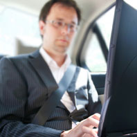 Work in comfort or simply relax as we drive you to your destination